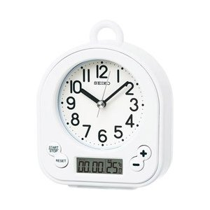 セイコー 置き時計 BZ358W(白) [振込不可]|y-sofmap