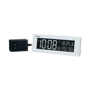 セイコー 電波交流式目覚まし時計 DL205W|y-sofmap