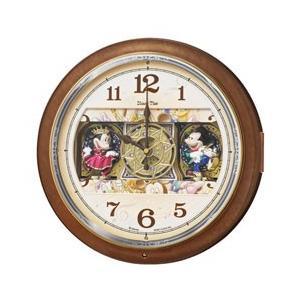 セイコー 電波からくり掛け時計「Disney Time(ディズニータイム)ミッキー&ミニー」 FW587B y-sofmap