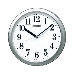 セイコー 電波掛け時計 KX256S 銀色メタリック|y-sofmap