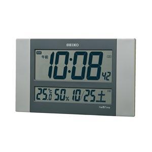 【09/27発売予定】 セイコー 電波掛け時計 「ネクスタイム」 ZS451S 銀色メタリック|y-sofmap