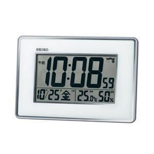セイコー セイコー電波掛け時計 SQ443S 銀色メタリック|y-sofmap