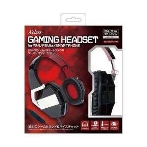 アクラス PS4/PSVita/スマートフォン用ゲーミングヘッドセット 【PS4/PSV(PCH-1000/2000)】 [SASP0364]|y-sofmap
