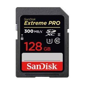 SanDisk 128GB・UHS Speed Class3(UHS-II)対応SDXCカード SD...