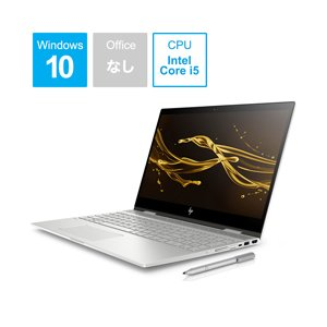 HP ENVY x360 15-cn0005TU 15.6型ノートパソコン Core i5 メモリ8GB SSD128GB+HDD1TB Windows10 ナチュラルシルバー 4QM73PA-AAAA (4QM73PAAAAA)|y-sofmap