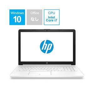 HP 15-da0058TU 15.6型ノートパソコン Core i7 メモリ8GB SSD128GB+HDD1TB Windows10 ピュアホワイト 4QM64PA-AAAA (4QM64PAAAAA)|y-sofmap
