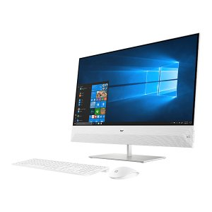 HP Pavilion All-in-One 27-xa0075jp 27型デスクトップパソコン Core i7 メモリ16GB SSD256GB+HDD2TB Windows10 スノーフレークホワイト 4YR10AA-AAAA|y-sofmap