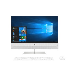 hp(ヒューレットパッカード) デスクトップPC Pavilion All-in-One 27-xa0075jp-OHB 4YR10AA-AAAB スノーフレークホワイト [Win10 Home]|y-sofmap
