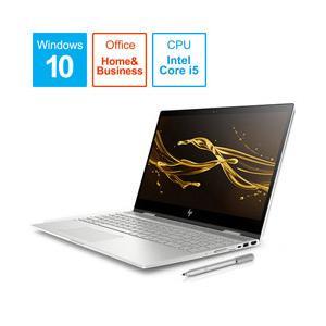 HP ENVY x360 15-cn1000 G1モデル 15.6型ノートパソコン Core i5 メモリ8GB HDD1TB Office付き Windows10 ナチュラルシルバー 6KX13PA-AAAA (6KX13PAAAAA)|y-sofmap