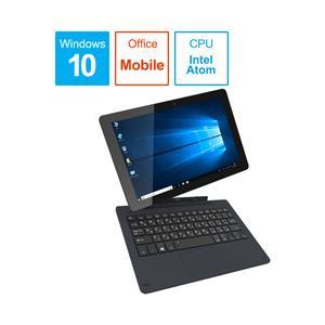 恵安 KIC102HD-DN WiZ ダークネイビー 10.1型ノートパソコン Atom メモリ4GB eMMC32GB Windows10 (KIC102HDDN)|y-sofmap