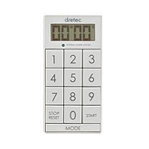 ドリテック デジタルタイマー「スリムキューブ」 T-520WT ホワイト