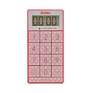 ドリテック デジタルタイマー「スリムキューブ」 T-520PK ピンク