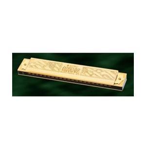 「ハーモニカ150周年」を記念し、金メッキカバー仕様で登場したモデルです。