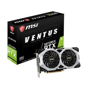 MSI GeForce RTX 2060 VENTUS 6G OC グラフィックスボード VD6855