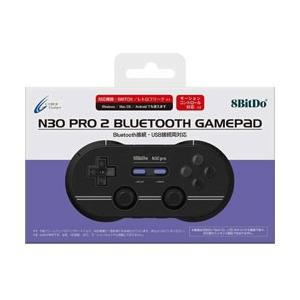 サイバーガジェット 8BitDo N30Pro2 BluetoothGamePad (M Edition) [Switch][CY-N30PRO2-MD]|y-sofmap
