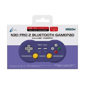 サイバーガジェット 8BitDo N30Pro2 BluetoothGamePad (C Editi...