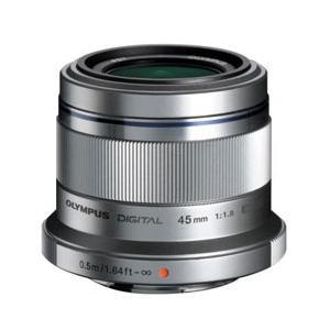 オリンパス カメラレンズ M.ZUIKO DIGITAL 45mm F1.8【マイクロフォーサーズマウント】(シルバー)|y-sofmap