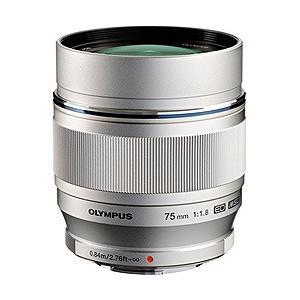 オリンパス カメラレンズ M.ZUIKO DIGITAL ED 75mm F1.8【マイクロフォーサーズマウント】(シルバー)|y-sofmap
