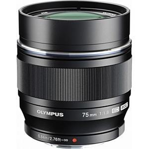 オリンパス カメラレンズ M.ZUIKO DIGITAL ED 75mm F1.8【マイクロフォーサーズマウント】(ブラック)|y-sofmap