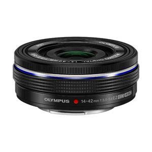 オリンパス カメラレンズ M.ZUIKO DIGITAL ED 14-42mm F3.5-5.6 EZ【マイクロフォーサーズマウント】(ブラック)|y-sofmap