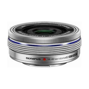オリンパス カメラレンズ M.ZUIKO DIGITAL ED 14-42mm F3.5-5.6 EZ【マイクロフォーサーズマウント】(シルバー)|y-sofmap