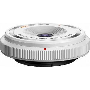 オリンパス カメラレンズ フィッシュアイボディーキャップレンズ BCL-0980【マイクロフォーサーズマウント】(ホワイト)|y-sofmap