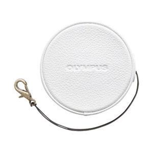 オリンパス 本革レンズジャケット(ホワイト) LC-60.5...