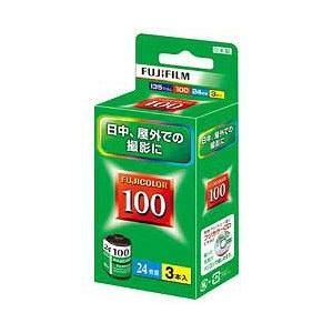 フジフイルム FUJICOLOR 100 S 24E枚撮り(3本パック)