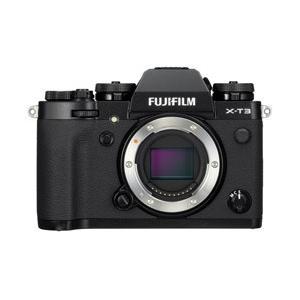 フジフイルム FUJIFILM X-T3 ボディ(レンズ別売) ブラック ミラーレス一眼カメラ FX...