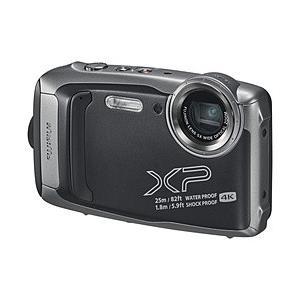 フジフイルム 防水コンパクトデジタルカメラ FinePix(ファインピックス) XP140 ダークシ...