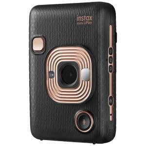 フジフイルム ハイブリッドインスタントカメラ 『チェキ』 instax mini LiPlay エレガントブラック