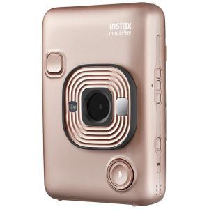 フジフイルム ハイブリッドインスタントカメラ 『チェキ』 instax mini LiPlay ブラッシュゴールド