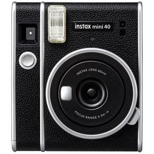 FUJIFILM(フジフイルム) インスタントカメラ 『チェキ』 instax mini 40  ブ...