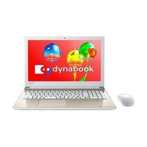ダイナブック dynabook T45/GG 15.6型ノートパソコン Celeron メモリ4GB HDD1TB Office付き Windows10 サテンゴールド PT45GGP-SEA (PT45GGPSEA) [振込不可]|y-sofmap