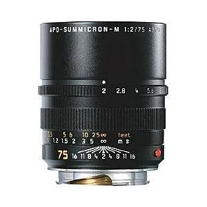 ライカ カメラレンズ アポ・ズミクロン M f2/75mm ASPH.(6bit) 11637C【ライカMマウント】 [代引不可]|y-sofmap