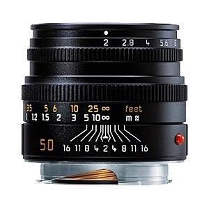 ライカ カメラレンズ ズミクロン M f2/50mm (6bit) 11826C【ライカMマウント】 [代引不可]|y-sofmap
