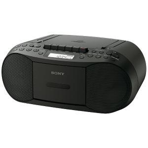 カセットテープでの録音再生が楽しめる、かんたん操作のコンパクトCDラジカセ