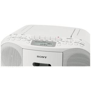 ソニー CDラジカセ(ホワイト) CFD-S70 WC|y-sofmap|04
