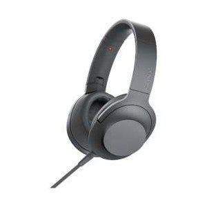 SONY(ソニー) h.ear on 2 グレイッシュブラック MDR-H600A【ハイレゾ対応】【...