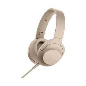SONY(ソニー) h.ear on 2 ペールゴールド MDR-H600A【ハイレゾ対応】【リモコ...