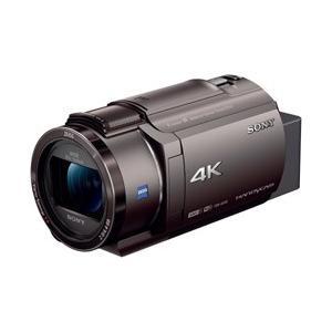 SONY(ソニー) FDR-AX45 ビデオカメラ ブロンズブラウン [4K対応]