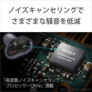 ソニー(SONY) フルワイヤレスイヤホン WF-1000XM3 BM ブラック [ワイヤレス(左右分離) /Bluetooth /ノイズキャンセリング対応]|y-sofmap|06