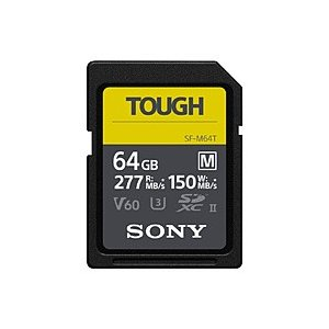 SONY(ソニー) SDXC UHS-II メモリーカード SF-M64T [64GB /Class...