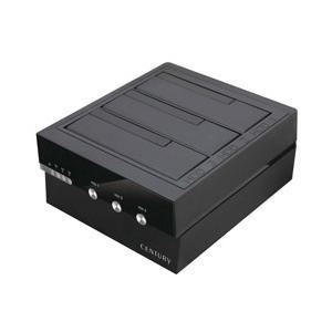 最大3台のHDD/SSDを個別電源管理!大容量データの高速転送も可能なクレードル