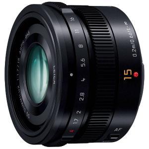 パナソニック(Panasonic) カメラレンズ LEICA DG SUMMILUX 15mm/F1.7 ASPH.【マイクロフォーサーズマウント】(ブラック) y-sofmap