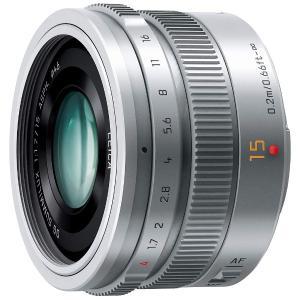 パナソニック(Panasonic) カメラレンズ LEICA DG SUMMILUX 15mm/F1.7 ASPH.【マイクロフォーサーズマウント】(シルバー) y-sofmap