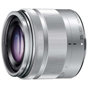パナソニック(Panasonic) カメラレンズ LUMIX G VARIO 35-100mm/F4.0-5.6 ASPH./MEGA O.I.S.【マイクロフォーサーズマウント】(シルバー) y-sofmap