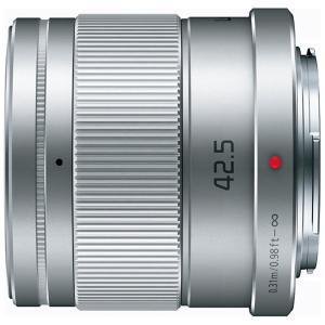 パナソニック(Panasonic) カメラレンズ LUMIX G 42.5mm/F1.7 ASPH./POWER O.I.S.【マイクロフォーサーズマウント】(シルバー) y-sofmap