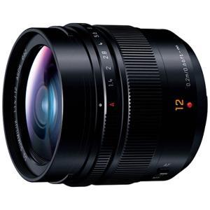 パナソニック(Panasonic) カメラレンズ LEICA DG SUMMILUX 12mm/F1.4 ASPH.【マイクロフォーサーズマウント】(ブラック) y-sofmap