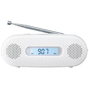 パナソニック 【ワイドFM対応】FM/AM 手回し充電ラジオ(ホワイト) RF-TJ20-W|y-sofmap|02